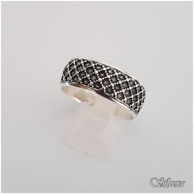 Sidabrinis žiedas Z141; 22 mm