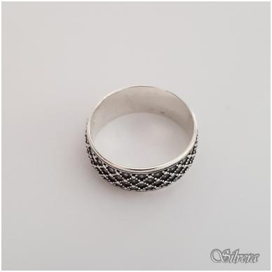 Sidabrinis žiedas Z141; 22 mm 2