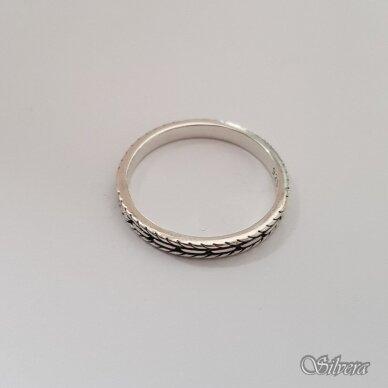 Sidabrinis žiedas Z143; 17,5 mm 2