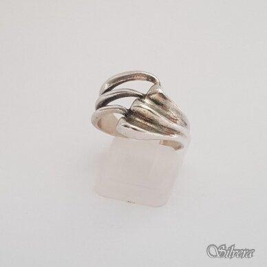 Sidabrinis žiedas Z171; 18 mm