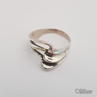 Sidabrinis žiedas Z171; 18 mm 2
