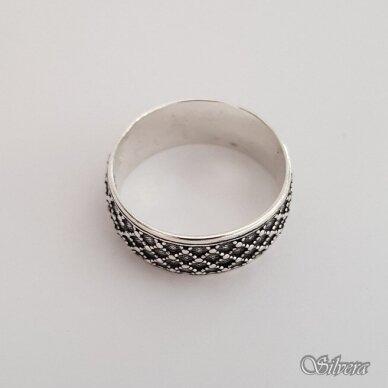 Sidabrinis žiedas Z182; 16 mm 2