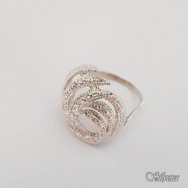 Sidabrinis žiedas Z189; 19 mm 2