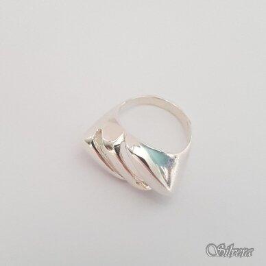 Sidabrinis žiedas Z193; 17,5 mm 2