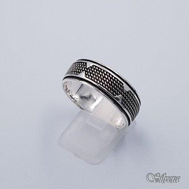 Sidabrinis žiedas Z199; 21 mm