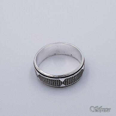 Sidabrinis žiedas Z199; 21 mm 2