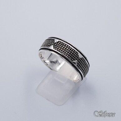 Sidabrinis žiedas Z199; 22 mm