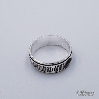 Sidabrinis žiedas Z199; 22 mm 2