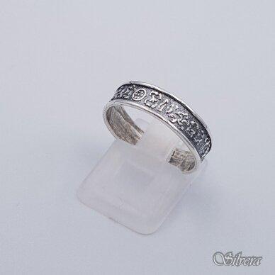 Sidabrinis žiedas Z203; 18 mm