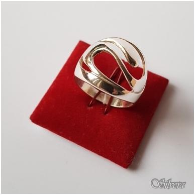 Sidabrinis žiedas Z2031; 19,5 mm