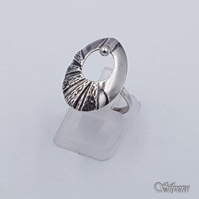 Sidabrinis žiedas Z223; 17 mm