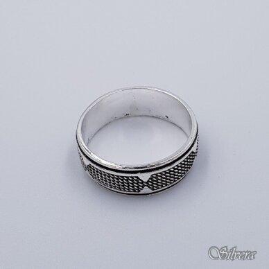 Sidabrinis žiedas Z236; 19,5 mm 2