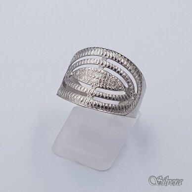 Sidabrinis žiedas Z237; 19 mm
