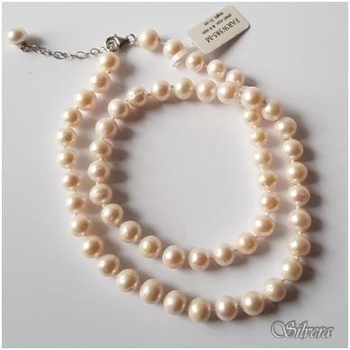 Vėrinys iš perlų FARW585-M; 50-54 cm 3