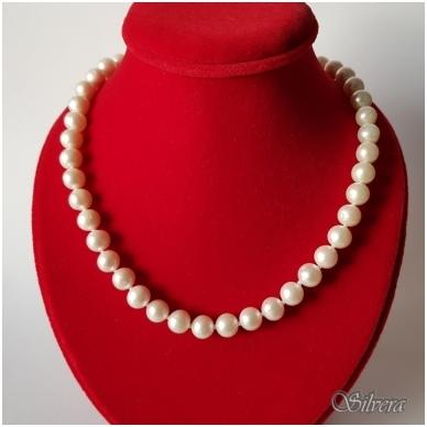 Vėrinys iš perlų FARW685-C; 40 -45 cm 2