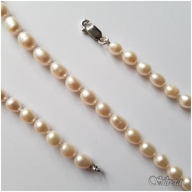 Vėrinys iš perlų FCW365; 45 cm