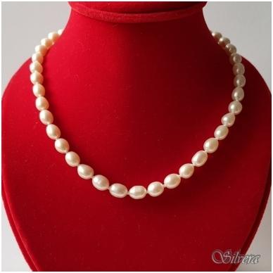 Vėrinys iš perlų FCW365; 45 cm 2